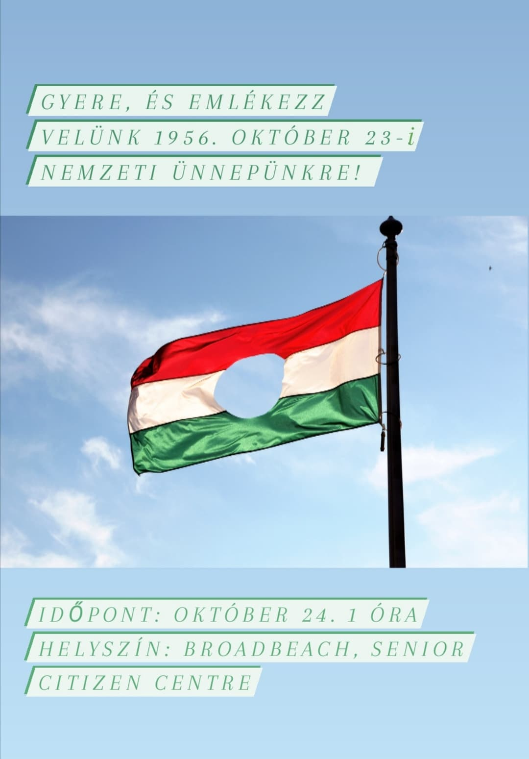 Remembrance day 1956 / HUNGARY