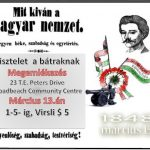 Hungarian Remembrance Day (15 March 1848)